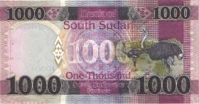 Süd Sudan / South Sudan P.neu 1000 South Sudanese Pounds 2020 (1)