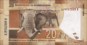 Südafrika / South Africa P.134 20 Rand (2012) (1)