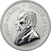 """Südafrika Silber-Unze 2017 """"50 Jahre Krügerrand"""""""