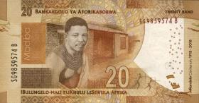 Südafrika / South Africa P.neu 20 Rand 2018 Gedenkbanknote (1)