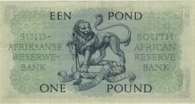 Südafrika / South Africa P.092a 1 Pound 21.9.1948 (Englisch) (2)