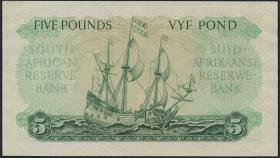 Südafrika / South Africa P.097b 5 Pounds 1953 (Afrikaans) (1/1-)