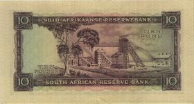Südafrika / South Africa P.098 10 Pounds 19.11.1958 (Englisch) (2)