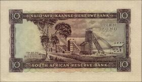 Südafrika / South Africa P.099 10 Pounds 14.9.1955 (Afrikaans) (2/1)