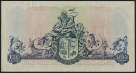 Südafrika / South Africa P.101a 100 Pounds 1952 (Afrikaans) (3)