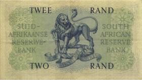 Südafrika / South Africa P.104b 2 Rand (1962-65) (Englisch) (3)