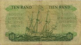 Südafrika / South Africa P.106a 10 Rand (1961) (Englisch) (3)