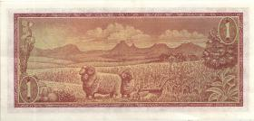 Südafrika / South Africa P.110b 1 Rand (1967) (1-)