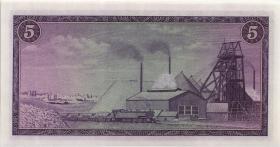 Südafrika / South Africa P.111b 5 Rand (1975) (Englisch) (2)
