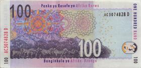 Südafrika / South Africa P.131a 100 Rand (2005) (2)