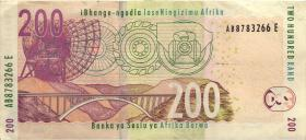Südafrika / South Africa P.132 200 Rand (2005) (3)