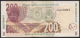 Südafrika / South Africa P.132b 200 Rand (2010) (1)