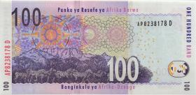 Südafrika / South Africa P.131b 100 Rand (2010) (1)