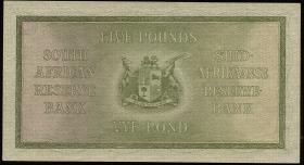 Südafrika / South Africa P.086c 5 Pounds 10.9.1946 (1)