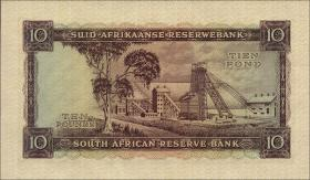 Südafrika / South Africa P.098 10 Pounds 10.8.1955 (Englisch) (2)