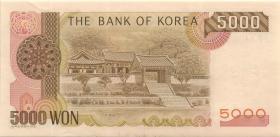 Südkorea / South Korea P.48 5000 Won (1993) (1/1-)