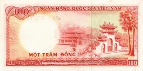 Südvietnam / Viet Nam South P.019b 100 Dong (1966) (1)