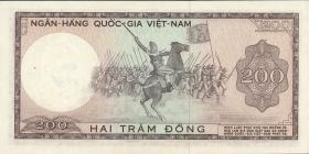 Südvietnam / Viet Nam South P.020b 200 Dong (1966) (1)