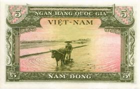 Südvietnam / Viet Nam South P.002 5 Dong (1955) (1)