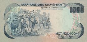 Südvietnam / Viet Nam South P.034 1000 Dong (1972) (1)