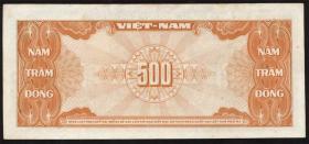 Südvietnam / Viet Nam South P.10 500 Dong (1955) (2)