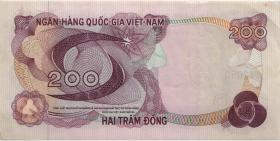 Südvietnam / Viet Nam South P.27 200 Dong (1970) (1-)