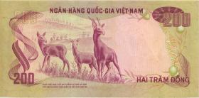 Südvietnam / Viet Nam South P.32 200 Dong (1972) (2)