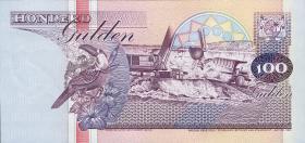 Surinam / Suriname P.139b 100 Gulden 1998 (1)