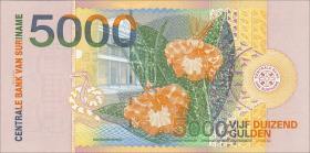 Surinam / Suriname P.152 5000 Gulden 2000 (1)