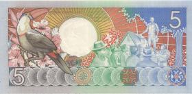 Surinam / Suriname P.130b 5 Gulden 1988 (1)