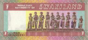 Swasiland / Swaziland P.01 1 Lilangeni (1974) (1)