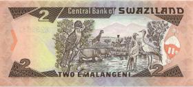 Swasiland / Swaziland P.18b 2 Emalangeni (1994) (1)