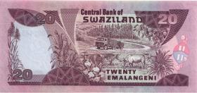 Swasiland / Swaziland P.25b 20 Emalangeni 1997 (1)