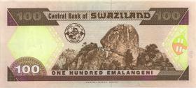 Swasiland / Swaziland P.27 100 Emalangeni 1996 (1)