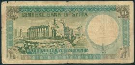 Syrien / Syria P.091b 100 Pfund 1962 (4)