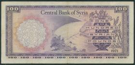 Syrien / Syria P.098c 100 Pfund 1971 (3)