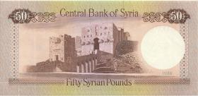 Syrien / Syria P.103d 50 Pounds 1988 (1)