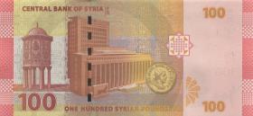 Syrien / Syria P.neu 100 Pounds 2019 (1)