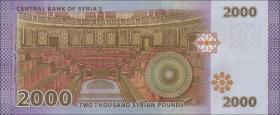 Syrien / Syria P.neu 2000 Pounds 2013 (2017) (1)