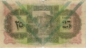 Syrien / Syria P.043c 25 Livres 1939 (5)