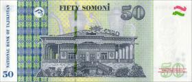 Tadschikistan / Tajikistan P.26b 50 Somoni 2018 (1)