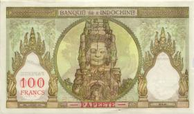 Tahiti P.14d 100 Francs (1939-65) Bank Indochina (1-)