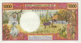 Tahiti, Frz. Übersee P.27c 1000 Francs (1983) (1)
