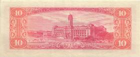 Taiwan, Rep. China P.1970 10 Yuan 1960 (2)