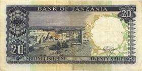 Tansania / Tanzania P.03b 20 Shillings (1966) (3)