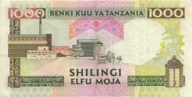 Tansania / Tanzania P.27a 1000 Shillingi (1993) (2)