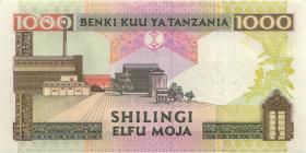 Tansania / Tanzania P.34 1000 Shilingi (2000) (2)