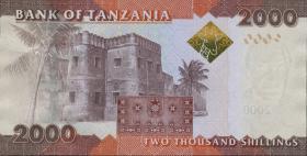 Tansania / Tanzania P.42b 2000 Shilingi (2015) (1)
