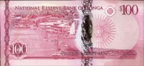 Tonga P.49 100 Pa'anga 2015 (1)