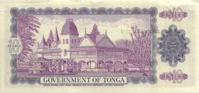 Tonga P.22b 10 Pa´anga 1980 (1-)